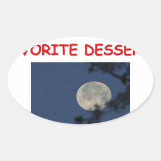 astronomer oval sticker