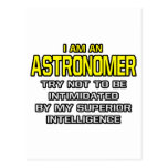 Astronomer...Superior Intelligence Post Cards