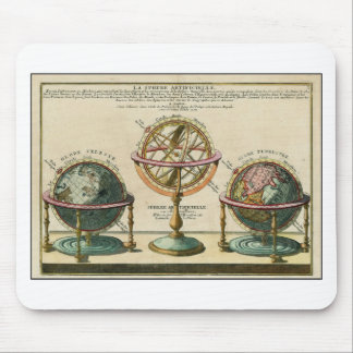 Astronomer's ancient object, the armillary sphere mouse pad