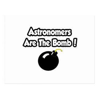 Astronomers Are The Bomb! Postcard