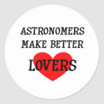 Astronomers Make Better Lovers Sticker