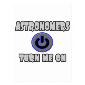 Astronomers Turn Me On Postcard