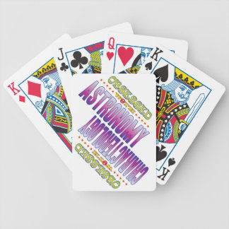 Astronomía 2 obsesionada cartas de juego