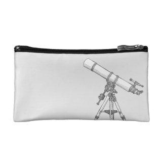 Astronomía/bolso del dibujo del telescopio