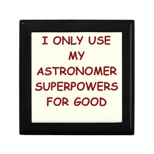 astronomía cajas de joyas