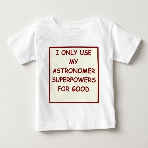 astronomía camisas
