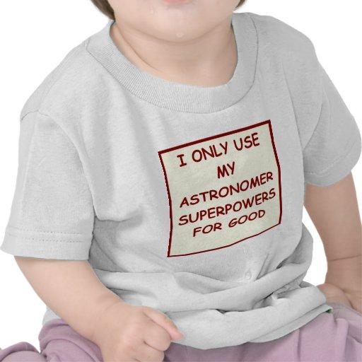 astronomía camisetas