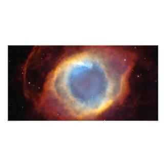 Astronomía de espacio de Hubble de la nebulosa de  Tarjeta Fotografica