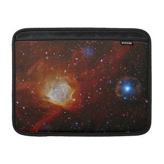 Astronomía de espacio de la estrella del pulsar SX Funda MacBook