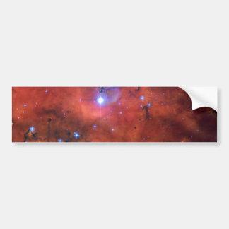 Astronomía de espacio de la NASA de la nebulosa NG Pegatina Para Auto