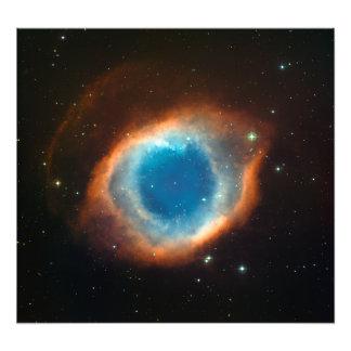 Astronomía de espacio de la nebulosa de la hélice fotografías