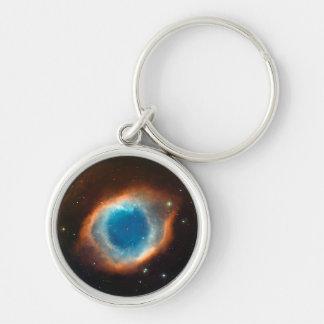 Astronomía de espacio de la nebulosa de la hélice llaveros