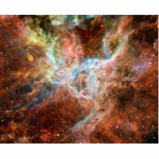 Astronomía de espacio de la nebulosa del Tarantula Escultura Fotografica