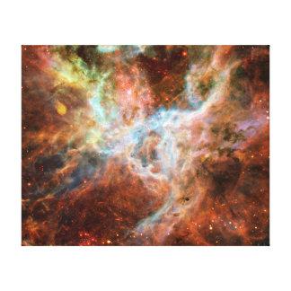 Astronomía de espacio de la nebulosa del Tarantula Impresión En Tela