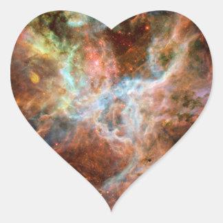 Astronomía de espacio de la nebulosa del Tarantula Pegatinas