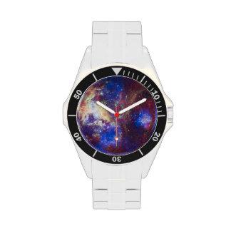 Astronomía de espacio de la nebulosa del Tarantula Reloj