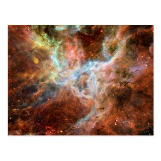 Astronomía de espacio de la nebulosa del Tarantula Tarjeta Postal