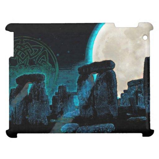 Astronomía del Celtic Stonehenge, de la luna y de
