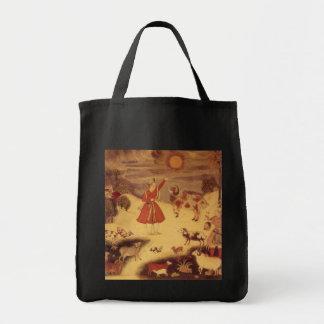Astronomía del vintage bella arte celestial asiát bolsas