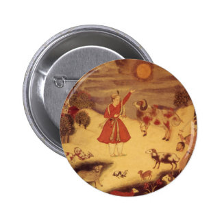 Astronomía del vintage bella arte celestial asiát pin
