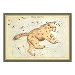 Astronomía del vintage, comandante de Ursa constel Comunicado Personalizado