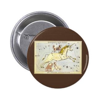 Astronomía del vintage, constelación de Monoceros  Pin