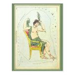 Astronomía del vintage, estrellas de la constelaci tarjetas postales