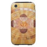 Astronomía del vintage, Sistema Solar Copernican a iPhone 3 Tough Cárcasas