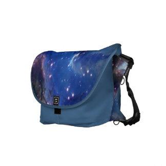 Astronomía, la bolsa de mensajero del espacio exte bolsa messenger