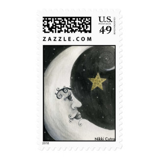 Astronomía - sello de la luna