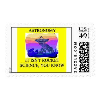 astronomía sello