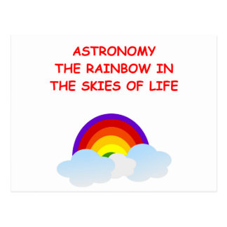 astronomía tarjeta postal