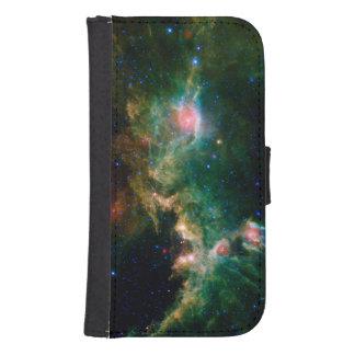 Astronomía verde de la NASA de la nebulosa de la Billetera Para Teléfono