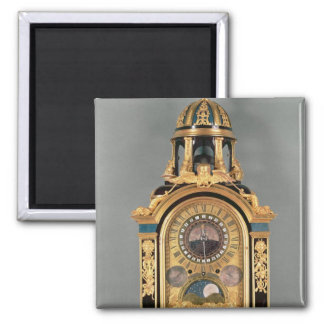Astronomical clock 2 inch square magnet