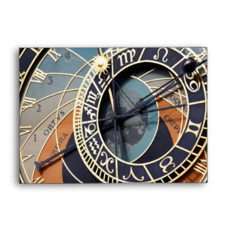 Astronomical Clock Envelopes