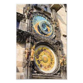 Astronomical Clock in Prague Photo Art