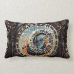 Astronomical Clock In Prague Pillow