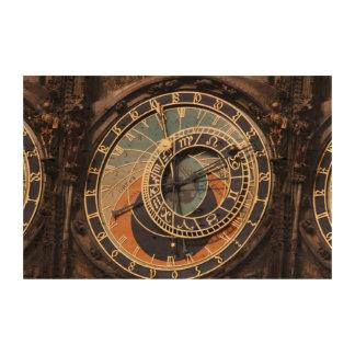Astronomical Clock In Prague Cork Paper Prints