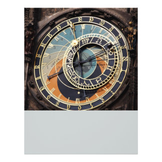 Astronomical Clock In Praque Flyer