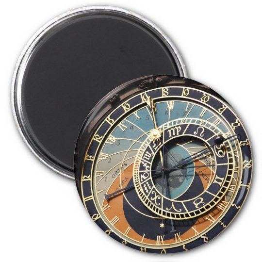 Astronomical Clock In Praque Magnet
