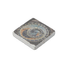 Astronomical Clock In Praque Stone Magnet at Zazzle
