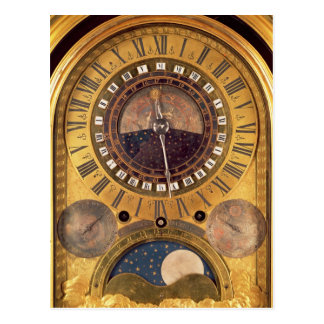Astronomical clock made for the Grand Dauphin Postcard