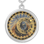 Astronomical Clock Necklace