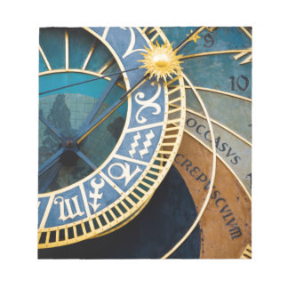 Astronomical Clock Notepad