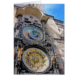 Astronomical Clock, Old Town, Prague(2) Greeting Card