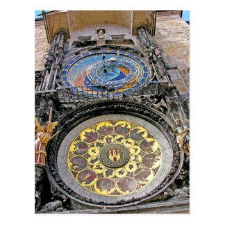 Astronomical Clock, Old Town, Prague(3) Postcard