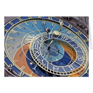 Astronomical Clock, Old Town, Prague Greeting Card