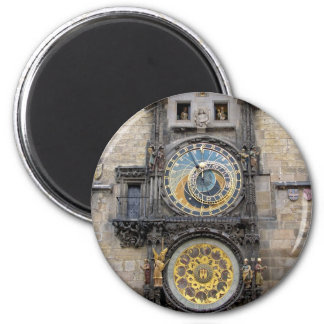 Astronomical Clock or Prague Orloj 2 Inch Round Magnet