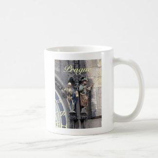 Astronomical Clock or Prague Orloj Classic White Coffee Mug