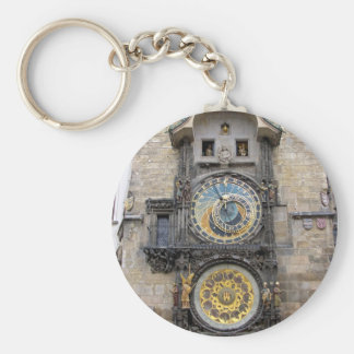 Astronomical Clock or Prague Orloj Keychain